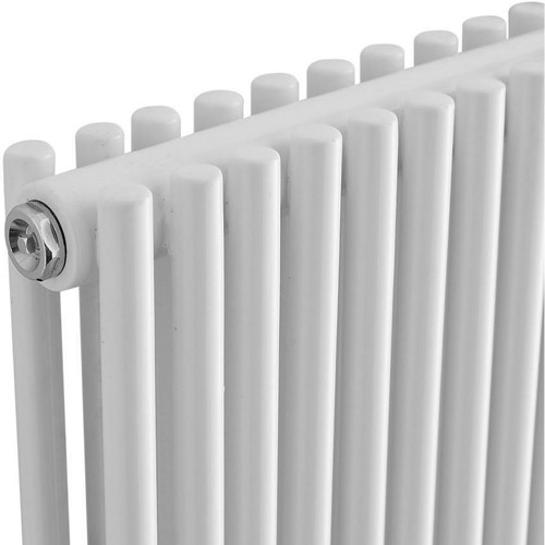 Additional image for Refresh Radiator (White). 350x1500mm. 5418 BTU.