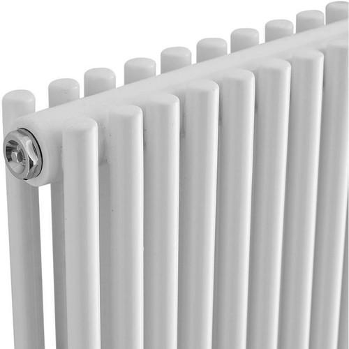 Additional image for Refresh Radiator (White). 350x1500mm. 5418 BTU.