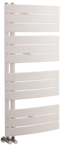 Additional image for Designer Towel Radiator. 1080x550 (White).