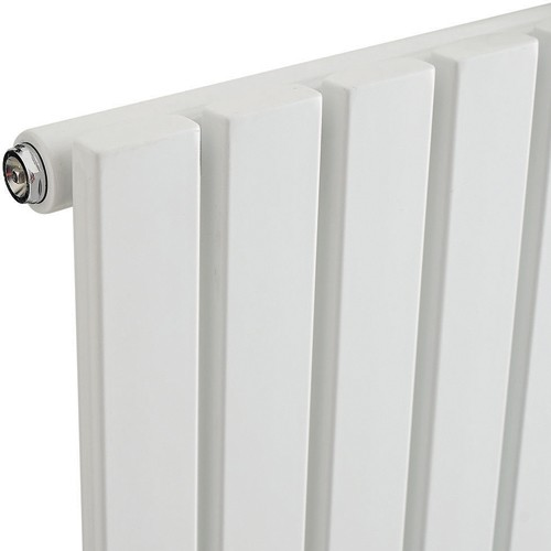 Additional image for Sloane Radiator (White). 354x1800mm. 4029 BTU.