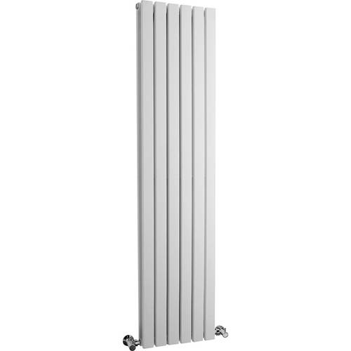 Additional image for Sloane Radiator (White). 354x1500mm. 5878 BTU.