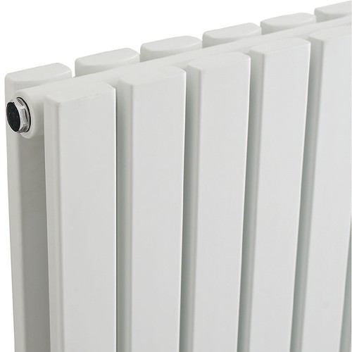 Additional image for Sloane Radiator (White). 354x1800mm. 4613 BTU.