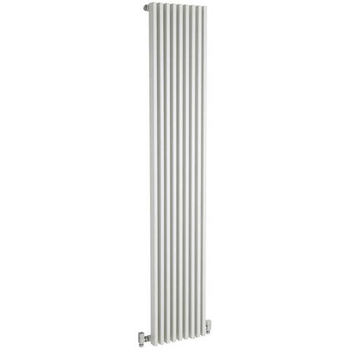 Additional image for Designer Vertical Radiator. 1800x342 (White).