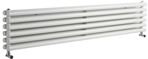 Additional image for Savy Double Radiator (White). 1800x354mm.
