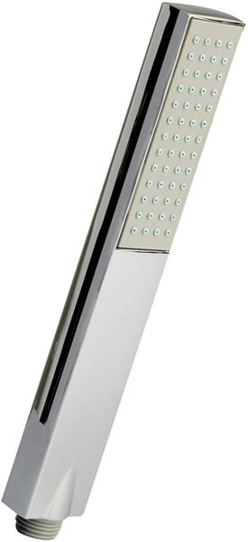 Additional image for Easyclean Rectangular Shower Handset (Chrome).