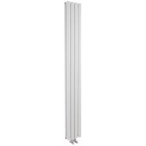 Additional image for Revive Vertical Radiator (White). 1800x236mm.