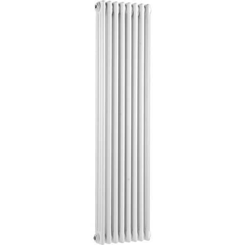 Additional image for 3 Column Vertical Radiator (White). 381x1500mm.