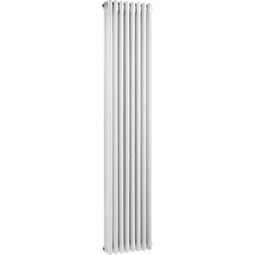 Additional image for 3 Column Vertical Radiator (White). 381x1800mm.