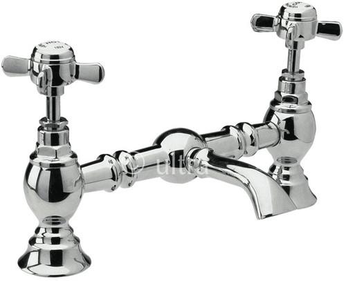 Additional image for 200mm Bridged Basin Mixer (Chrome)