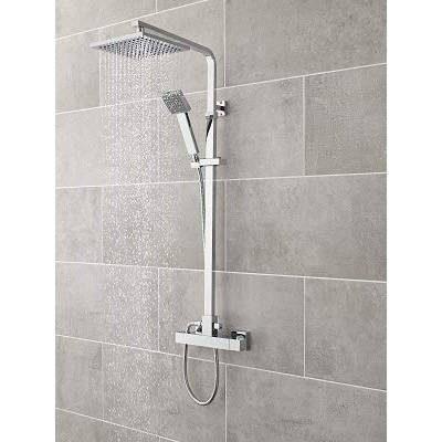 Additional image for Thermostatic Bar Shower Valve With Kit (S Steel).