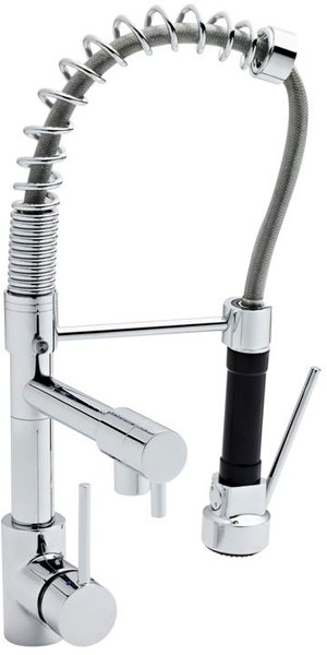 Additional image for Professional Pull Out Spray Kitchen Tap (Chrome).