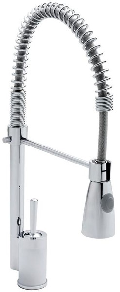 Additional image for Designer Pull Out Spray Kitchen Tap (Chrome).