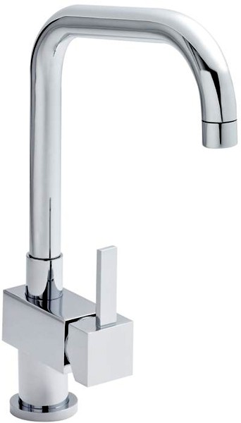 Additional image for Kitchen Tap With Single Lever Side Action Control (Chrome).
