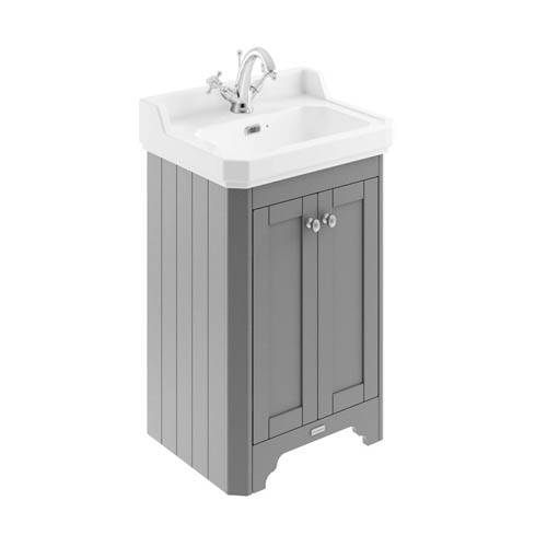 Additional image for Vanity Unit With Basins 560mm (Grey, 1TH).