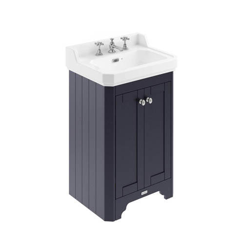Additional image for Vanity Unit With Basins 560mm (Blue, 3TH).