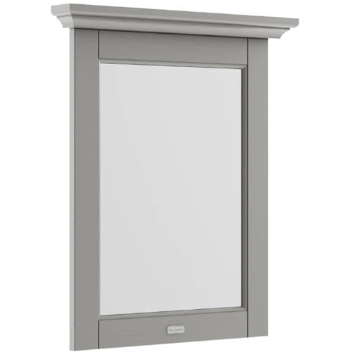 Additional image for Flat Mirror & Frame 600mm (Storm Grey).