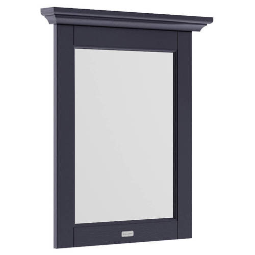 Additional image for Flat Mirror & Frame 600mm (Twilight Blue).