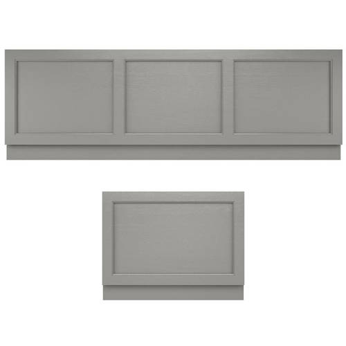 Additional image for Bath Panel Pack, 1800x800mm (Storm Grey).