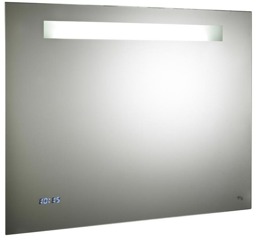 Additional image for Vizor Mirror With De-Mister, Clock & Shaver (800x650).