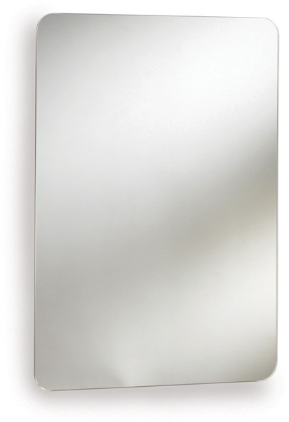Additional image for Austin Mirror Bathroom Cabinet (Stainless Steel).