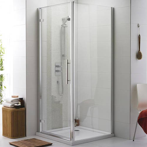 Additional image for Apex Shower Enclosure With 8mm Glass (900x900mm).