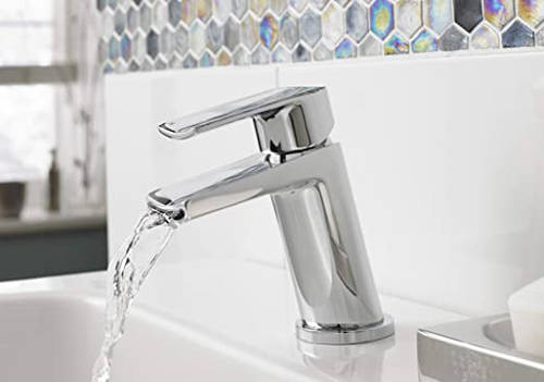 Additional image for Waterfall Basin & Bath Shower Mixer Tap Pack (Chrome).