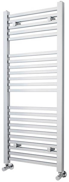 Additional image for Square Ladder Towel Radiator (Chrome). 1200x500mm.