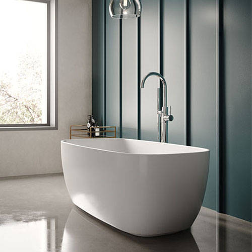 Additional image for Bella Freestanding Bath 1495x721mm.