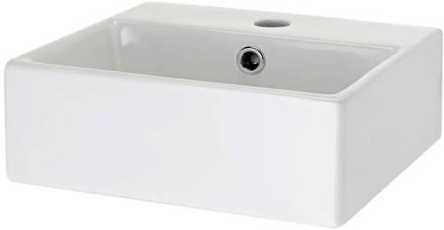 Additional image for Rectangular Free Standing Basin (335x295mm).