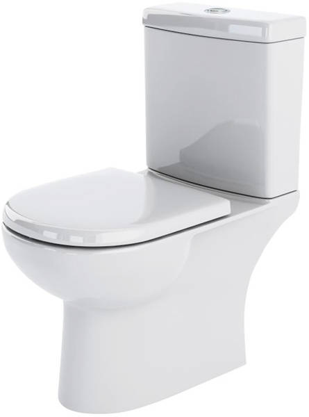 Additional image for Close Coupled Toilet Pan With Cistern.