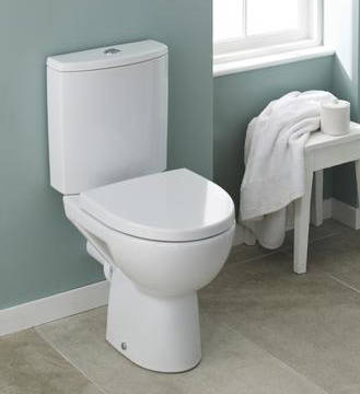 Additional image for Compact Toilet With Cistern & Soft Close Seat.