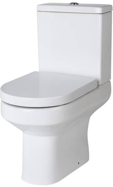 Additional image for Toilet Pan With Cistern & Soft Close Seat.