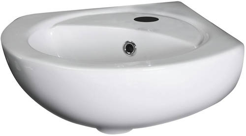 Additional image for Corner Wall Hung Basin (1 Tap Hole).