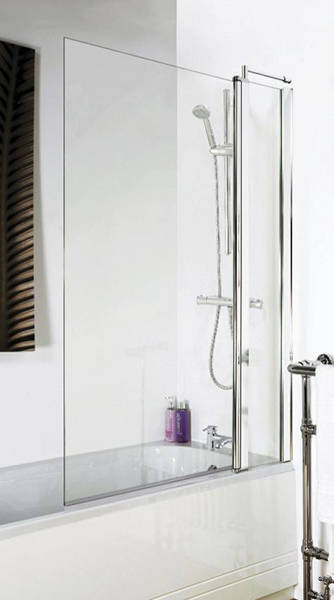 Additional image for Square Bath Screen With Fixed Panel (1400x1000).