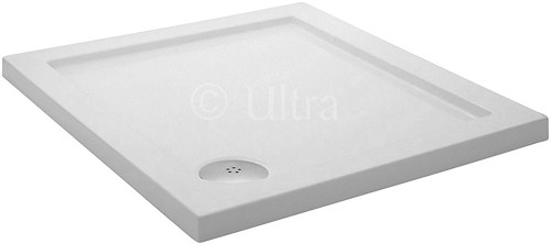 Additional image for Low Profile Square Shower Tray. 800x800x45mm.
