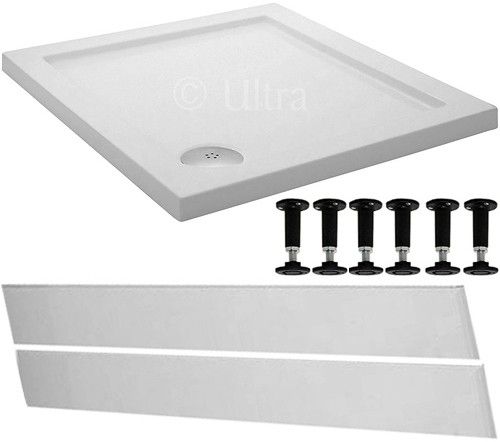 Additional image for Easy Plumb Square Shower Tray. 800x800x45mm.
