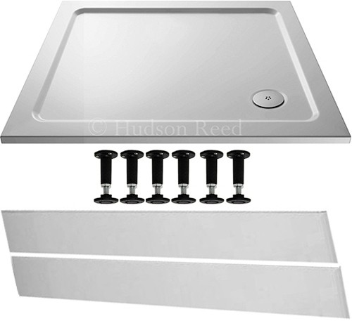 Additional image for Easy Plumb Rectangular Shower Tray. 1000x900x40mm.