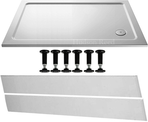 Additional image for Easy Plumb Rectangular Shower Tray. 1200x760x45mm.