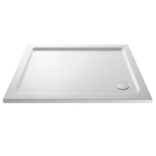 Additional image for Rectangular Shower Tray 1200x1000mm (Gloss White).