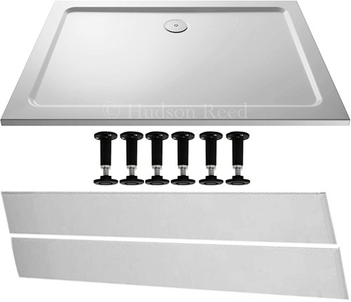 Additional image for Easy Plumb Rectangular Shower Tray. 1400x900x40mm.