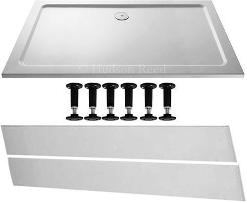 Additional image for Easy Plumb Rectangular Shower Tray. 1600x800x40mm.