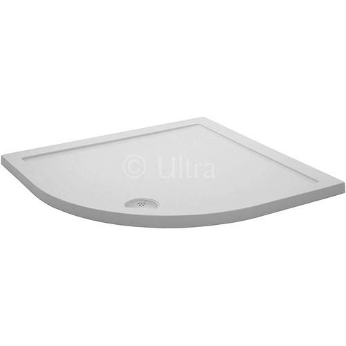 Additional image for Low Profile Quadrant Shower Tray. 800x800x40mm.