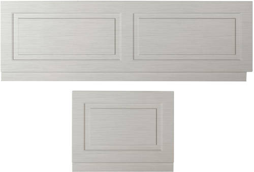 Additional image for Front Bath Panel 1800mm & End Panel 750mm (Grey).