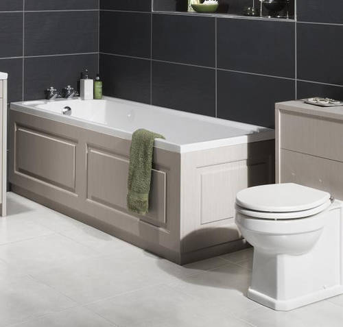 Additional image for End Bath Panel 700mm (Grey).