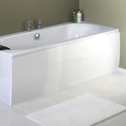 Additional image for Side & End Bath Panel Pack (White, 1700x700mm).
