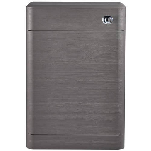 Additional image for Back To Wall WC Unit 550mm (Grey Woodgrain).