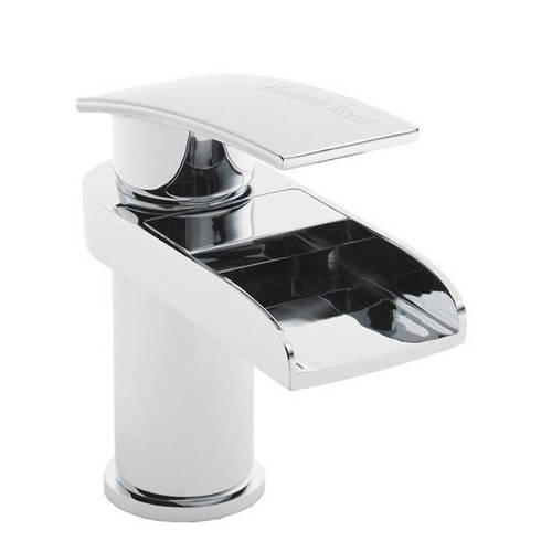 Additional image for Waterfall Basin Mixer Tap (Chrome).