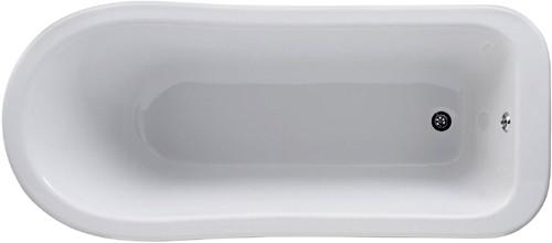 Additional image for Brockley Slipper Bath 1700x730mm.