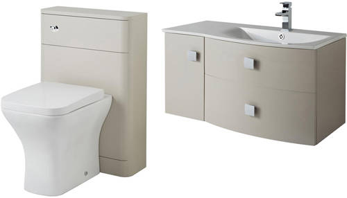 Additional image for Bathroom Furniture Pack 3 (RH, Cashmere)