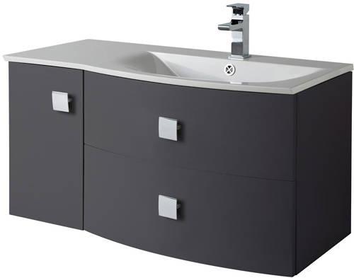 Additional image for Bathroom Furniture Pack 3 (RH, Graphite)